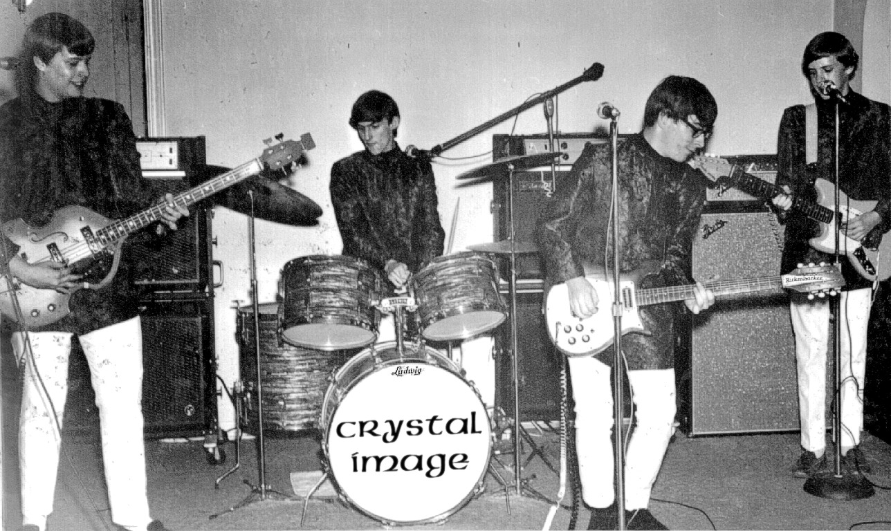 The Pictures Of The Crystal Image